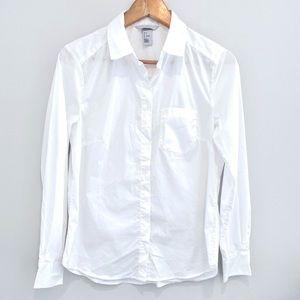 2/$25 H&M white long sleeve button down shirt